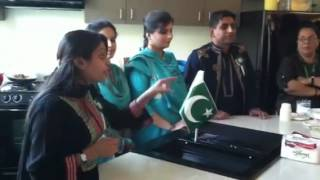 Pakistan AEI Students Cooking Night