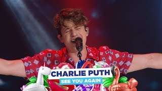 Charlie Puth - 'See You Again' (live at Capital's Summertime Ball 2018)