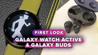 Samsung Galaxy Watch Active, Galaxy Buds and Fit: First impressions