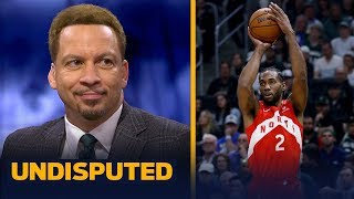 Chris Broussard reacts to Kawhi Leonard