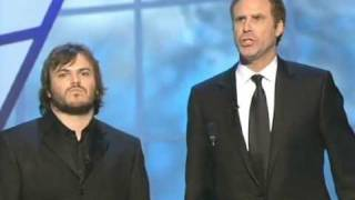 "Jack Black and Will Ferrell ""Get Off the Stage"" Oscar® song"