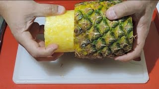How To Cut And Serve Pineapple - By J.Pereira Art Carving Fruits and Vegetables