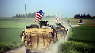 US troops patrol Syria