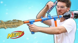 Nerf Coke and Mentos Soda Launcher!
