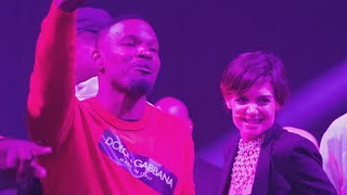 Jamie Foxx and Katie Holmes Put PDA on Display for His 50th Birthday: See the Pics!