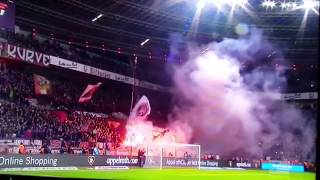 Pyro Technik• Bayer 04 Leverkusen vs Borussia MönchenGladbach
