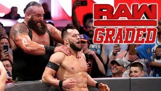 WWE Raw: GRADED (21 May) | Braun Strowman vs. Finn Balor
