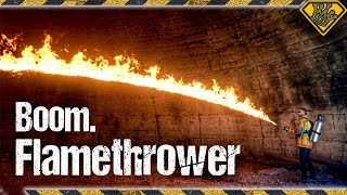 The Big Flamethrower Test! 🔥