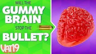 Will It Stop a Bullet? #2 | Shooting Fire Extinguishers, Lighters, Gummy & more!
