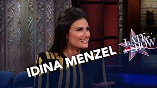 Idina Menzel Is A Fan Of Stephen