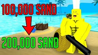 THIS DOUBLES YOUR SAND! (Roblox Treasure Hunt Simulator)