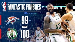 Marcus Morris Game Winner! Down To The Last Second OKC vs Boston!
