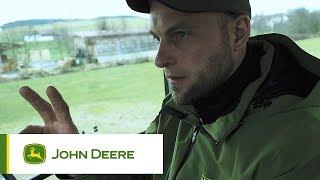 John Deere - Die Traktorübergabe des 6250R bei Georg Mayerhofer