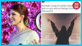 Jacqueline Overwhelmed About Virushka's Marriage | Taapsee Wraps Up 'Soorma'