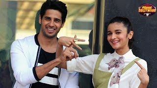 Sidharth Malhotra Gives Into Rumoured Gf Alia Bhatt
