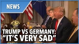 Trump SLAMS Germany for ties with Russia over the breakfast table with Nato Secretary General