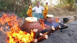 Traditional Pot Mutton Biryani | Traditional cooking Lamb Biryani | Matka Biryani By Grandpa Kitchen