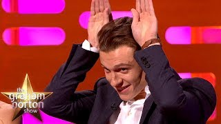 New Spiderman Tom Holland Once Auditioned As A Wolf | The Graham Norton Show