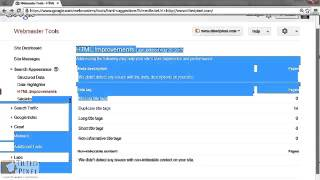 Free Google Webmaster Tools Video Tutorial Online in HD