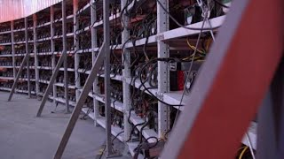 Inside a Russian cryptocurrency farm