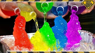 How To Make RAINBOW Instant Ice!