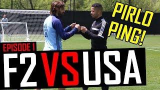 Andrea Pirlo AMAZING Passing Master Class! F2 VS USA