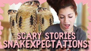 Danielle Bregoli reacts to Scary Story SNAKEXPECTATIONS