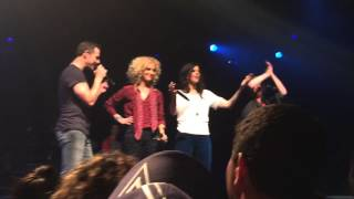 """Little Big Town """"Silver and Gold"""" Live, NYC, 10/21/14"""
