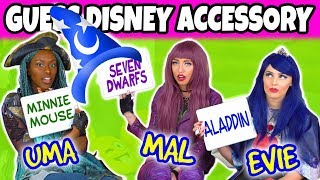 WHICH DISNEY CHARACTER IS THAT? (We Play Mal, Evie and Uma)