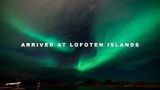 Arrived at Lofoten Islands ☆ ロフォーテン諸島に到着!