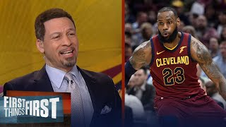 Chris Broussard on LeBron becoming the first with 30k pts, 8k rebs, 8k ast | FIRST THINGS FIRST