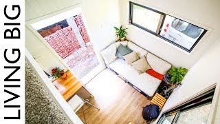 Minimalist Rent-Free City Living in a Tiny House & Stealth Van