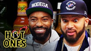 Desus and Mero Get Smacked By Spicy Wings   Hot Ones