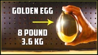 Casting a Golden Egg (Brass)