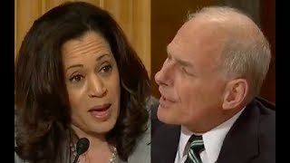 """John Kelly Gets Pissed When Kamala Harris Interrupts Him 3 Times! """"LET ME FINISH ONCE!"""""""
