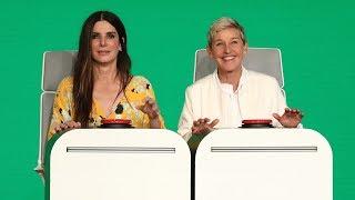 Sandra Bullock Answers Ellen