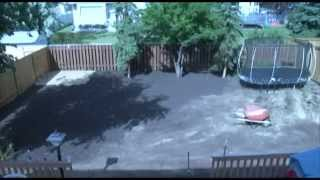 Backyard Makeover Time Lapse