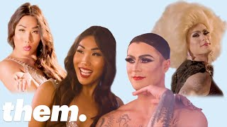 Gia Gunn Gives Kyle Krieger a Drag Makeover | Drag Me | them.