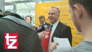 Karl-Heinz Rummenigge schmunzelt über den TSV 1860 München