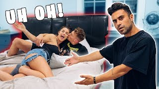 My Roommate CAUGHT US In His Bed! ;)