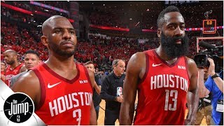 Rockets drama: Chris Paul and James Harden had 'tense moments' during playoffs - report   The Jump