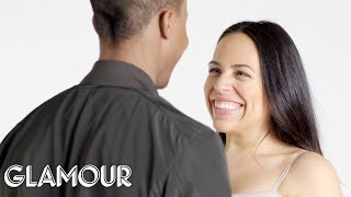 Couples Stare at Each Other for 4 Minutes Straight | Glamour