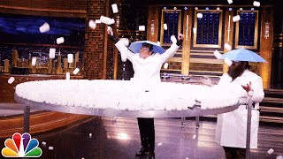 Kevin Delaney and Jimmy Fallon Launch 1,000 Alka-Seltzer Rockets