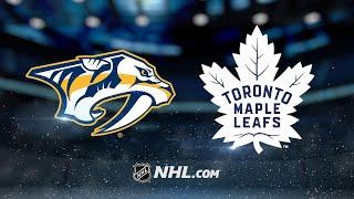 Andersen, Maple Leafs top Predators in shooout, 3-2