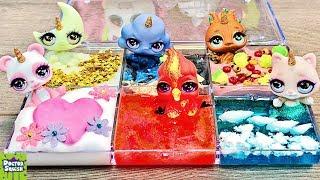 Cutie Tooties SLIME Palette! Poopsie Surprise DIY Slime Collection!