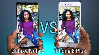 iPhone 8 Plus VS Galaxy Note 8 Camera Test!