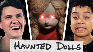We Lived With Haunted Annabelle Dolls