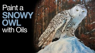 Oil Painting Lesson - Snowy Oil
