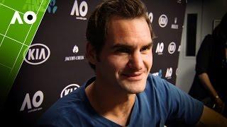 Roger Federer post final interview | Australian Open 2017
