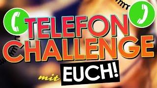 TELEFON CHALLENGE mit EUCH!